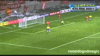 2002 Ronaldo vs Korea
