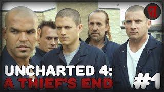 Прохождение Uncharted 4: A Thief's End #1 |  Начало. Побег из тюрьмы