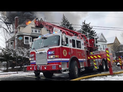 VIDEO: No Deaths Or Charges In Paterson House Blaze, Authorities Say