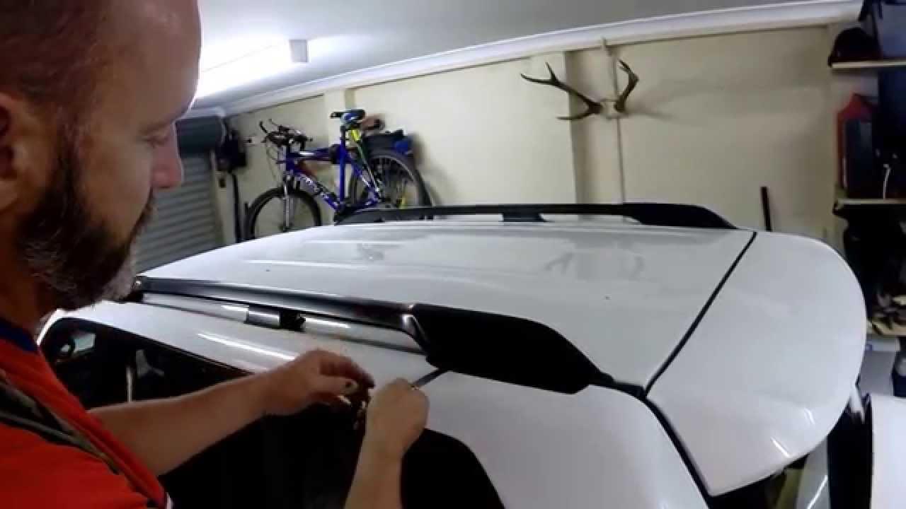 How To Remove Toyota Prado Roof Rails Youtube