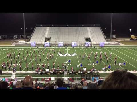 """Tomball High School Band 2016 - """"The Power of One"""" - Waller Marching Festival Finals"""