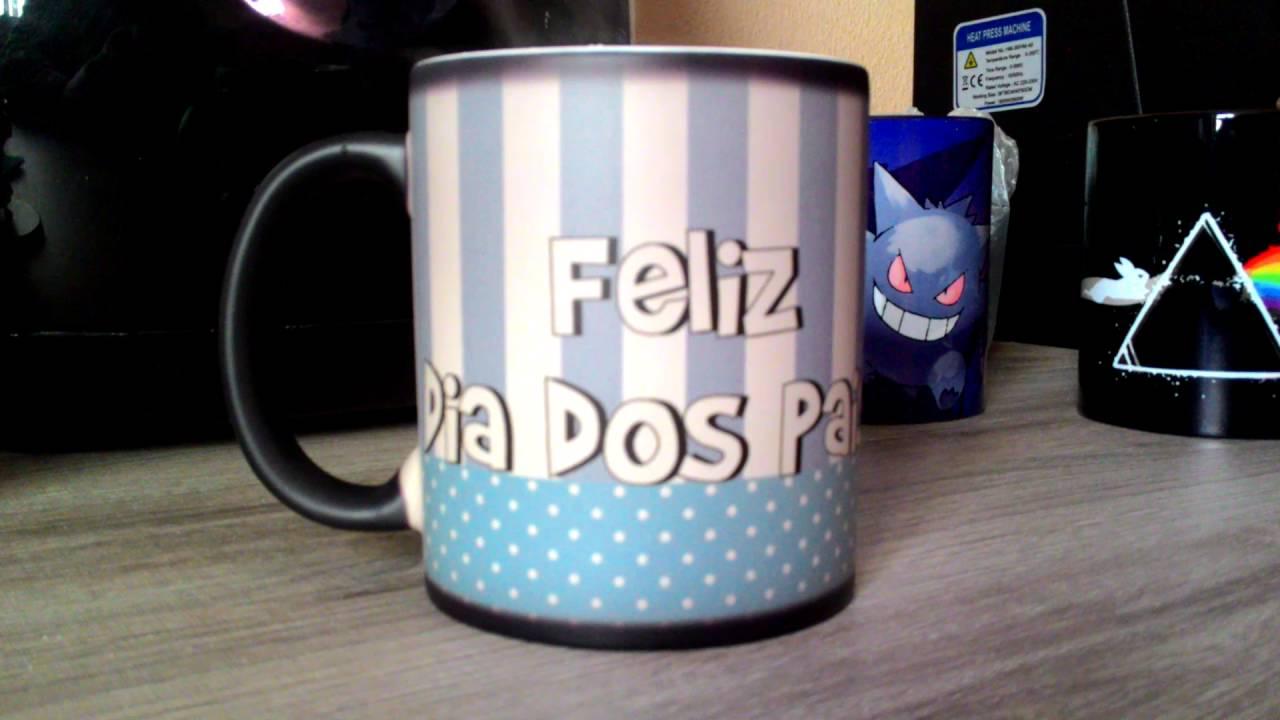 284a9a084 Caneca Mágica personalizada Dia dos pais. - YouTube