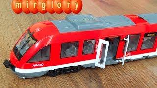 City Train игрушки для детей Видео Обзор Городской Поезд Dickie Toys