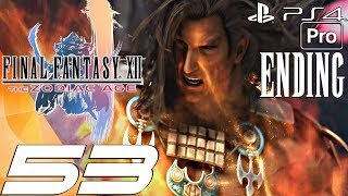FINAL FANTASY XII Zodiac Age - Gameplay Walkthrough Part 53 - Final Boss & Ending (PS4 PRO)