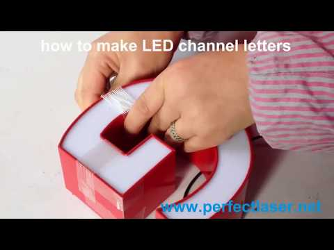 How to Make LED Channel Letters/Acrylic Bender/Channel Letter Bender?