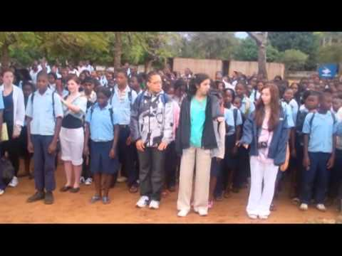 Twyford C of E High School visit to Mozambique 2011