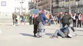 Tigani romani batuti an spania de politia spaniola