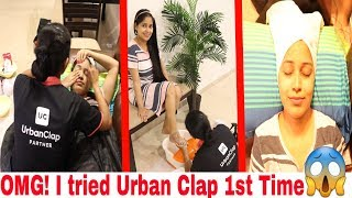 I went to the best Reviewed Urban Clap Artist 1st Time Experience...Thoda Painful Tha😥|Be Natural
