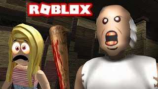 PANIC AND TERROR IN THE MANSION! ROBLOX ? GRANNY