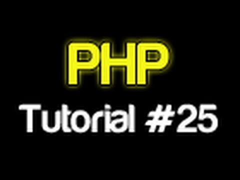 PHP Tutorial 25 - Writing To A File (PHP For Beginners)