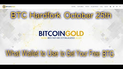 BitcoinGold - What Wallet to Use For The Hardfork