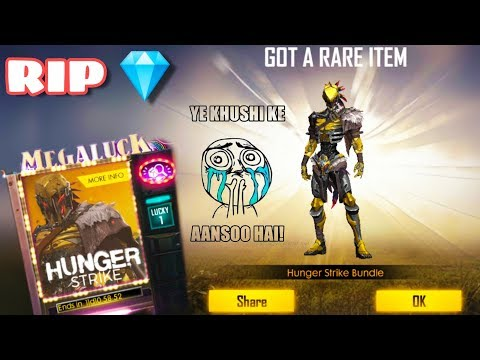 New Diamond Royale | Hunger Strike | RIP My Diamond Voucher - Garena Free Fire