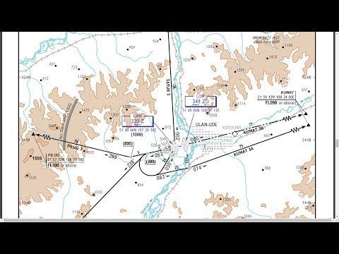 """Microsoft Flight Simulator X -""""Взлет-Посадка"""" (карты выхода и захода на посадку)"""