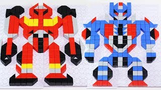 Transformers Brick Puzzles for Kids