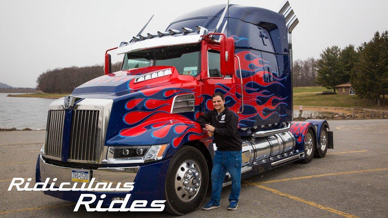 Photo Of Optimus Prime Truck Impre Media