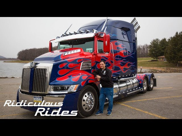 World's First Fan-Built Optimus Prime | RIDICULOUS RIDES