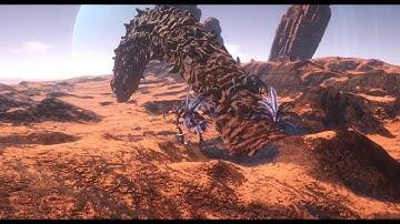 Osiris:New Dawn-Sand Worm