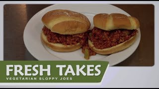 Vegetarian Sloppy Joes: Fresh Takes