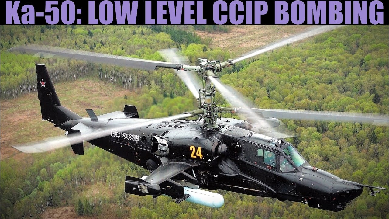 Ka-50 Blackshark: Low Level CCIP Bombing Tutorial | DCS