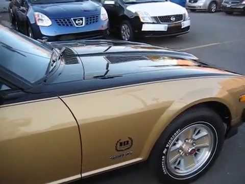 1980 Datsun 280 Zx Black Gold With 49 Original Miles
