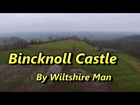 Bincknoll Castle. Hike. Drone. Explore. Wiltshire Mans New Years Day Adventure