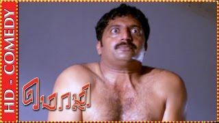 Brahmanandam finds Prakash Raj naked | Mozhi Comedy Scene