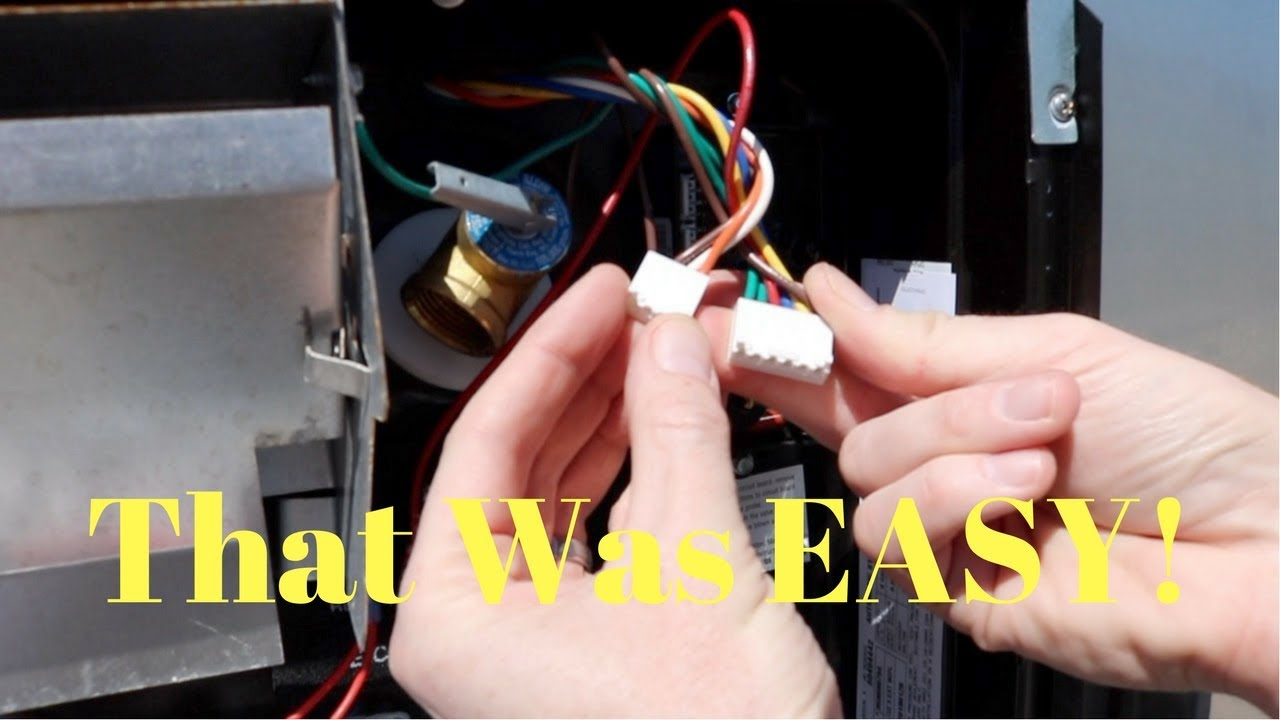 hot water heater thermostat wiring diagram 3 way switch pdf diy atwood dometic rv repair youtube