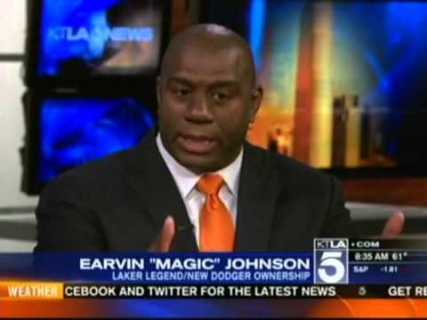 Magic Johnson Discusses OraQuick® At-Home HIV Test on KTLA Morning News