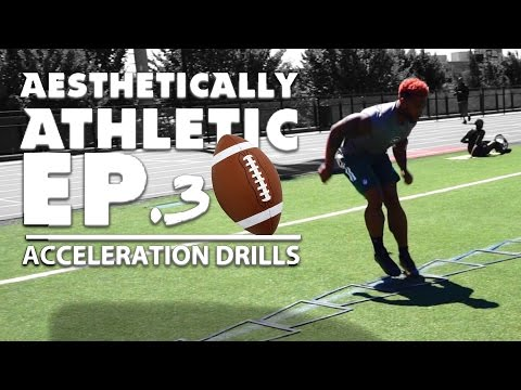 AESTHETICALLY ATHLETIC EP.3: How to do Acceleration Drills - TERRON BECKHAM