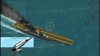 [CFS2]珊瑚海海戦 レキシントンを撃沈せよ!九九艦爆・九七艦攻