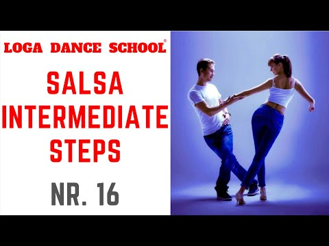 Learn Salsa Dance: Intermediate Steps #16 at Loga Dance School