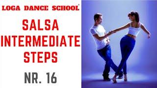 Learn Salsa Dance: Intermediate Steps #16 at Loga Dance School