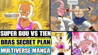 Dragon Ball Multiverse Chapter 39: Super Buu Vs Tien! Super Saiyan Bra's Secret Plan