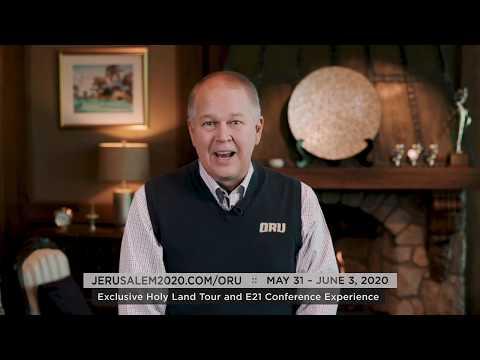 Jerusalem 2020: An Invite From ORU President Dr. William M. Wilson