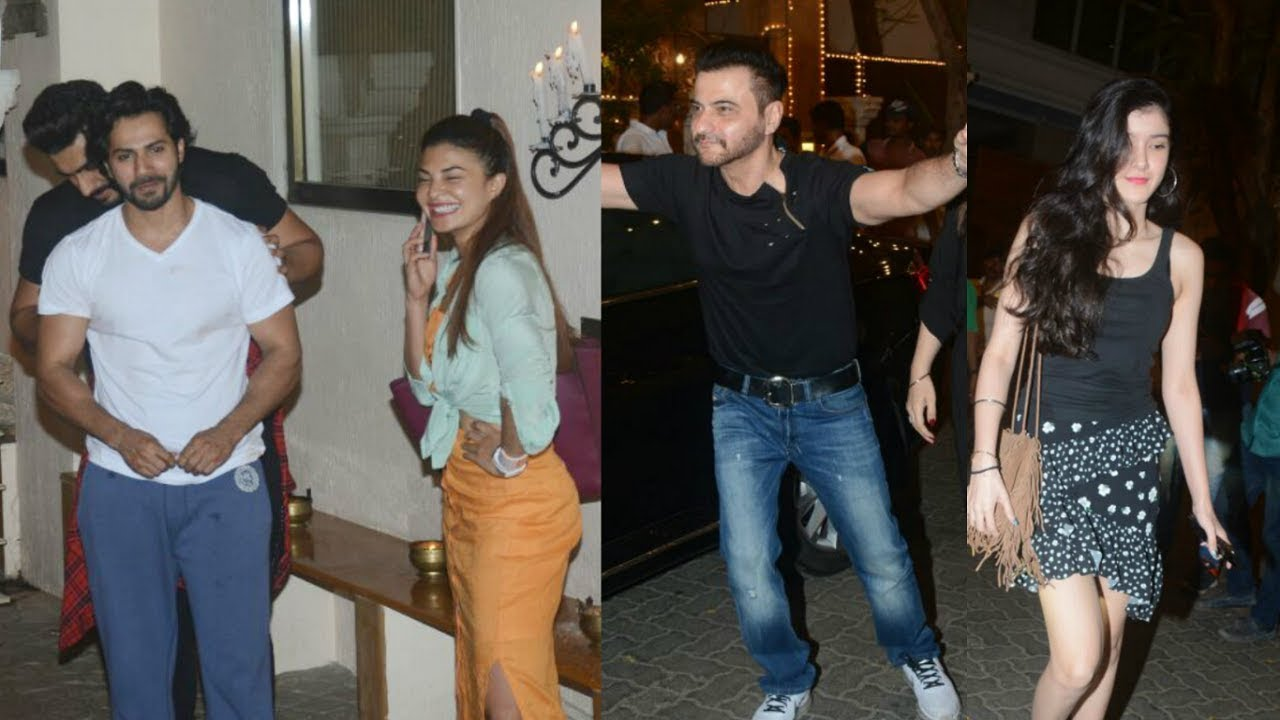 Bollywood Celebs Spotted Outside Sonam Kapoor House For Sangeet Practices