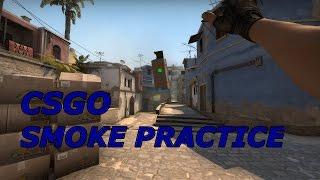 CSGO: How to Make a Smoke Practice Config(cfg)