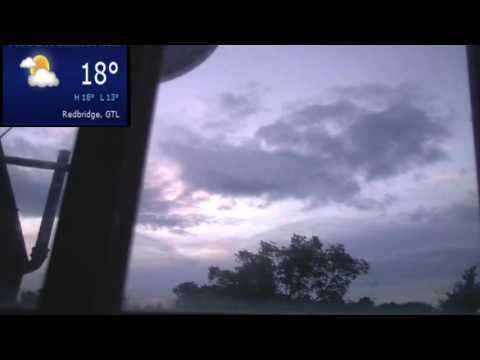 Weather cam, sky cam live stream London (North East of Londo
