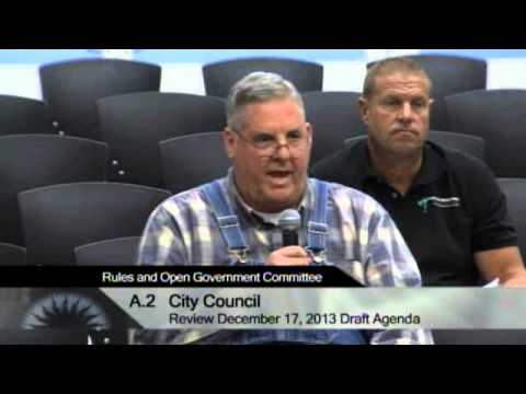 12/04/13 - San Jose City Hall - Rules & Open Government Committee