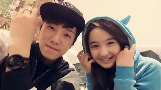 Repeat youtube video Akama Miki  and 张木易 practicing 勇敢爱 brave love