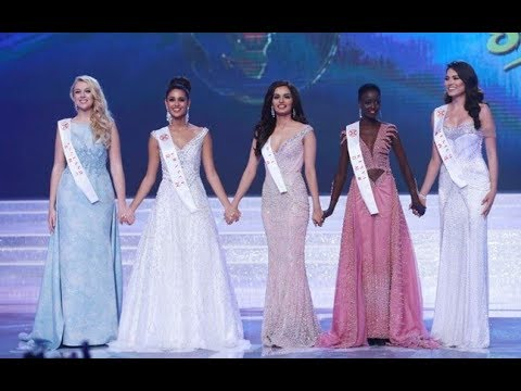 MISS WORLD 2017 FINALIST & QUESTIONING AND BEAUTIFUL ANSWER
