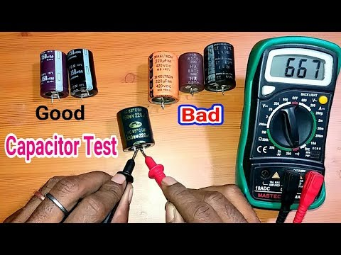 download Testing Of Capacitor Bad Or Good in Hindi.