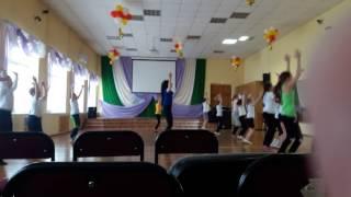 Урок ритмики в 51 школе