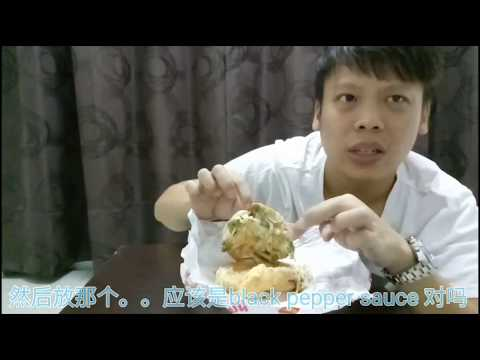 MUST try food at Malaysia. Authentic local made Ramly burger! 来马来西亚你应该吃什么?强力推荐本土汉堡!