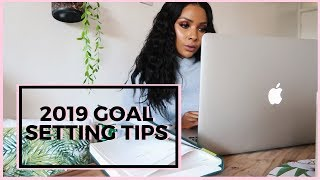 HOW TO PLAN YOUR 2019 GOALS | NANCIE MWAI