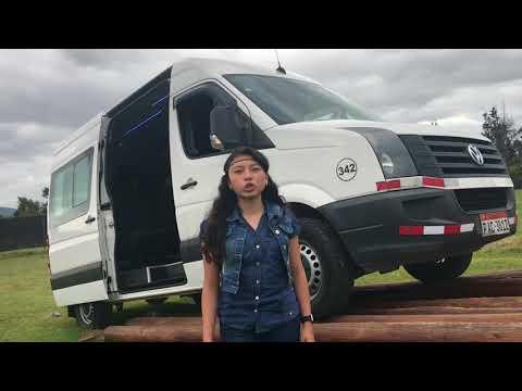 Alquiler de Furgonetas Volkswagen Crafter en Quito - Ecuador