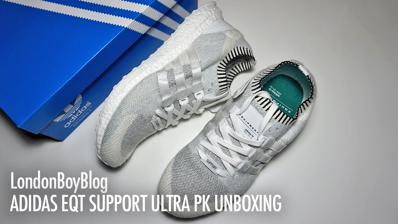 separation shoes 074c4 fac23 Adidas EQT Support Ultra PK Unboxing