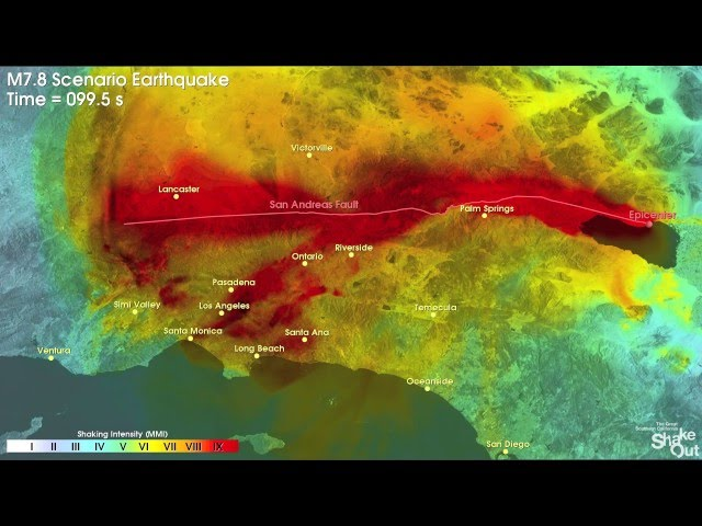 8 2 mega earthquake could hit socal and cause catastrophic damage in l a area scientists say ktla