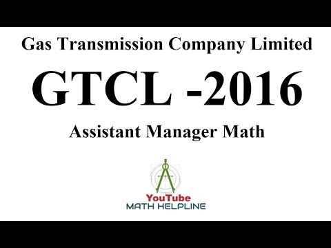 GTCL Gas Transmission Company Limited Assistant Manager 2016