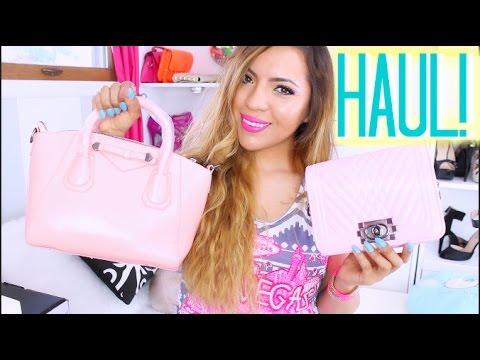 HAUL: Compras baratas, bolsas y decoración♥BeautybyNena