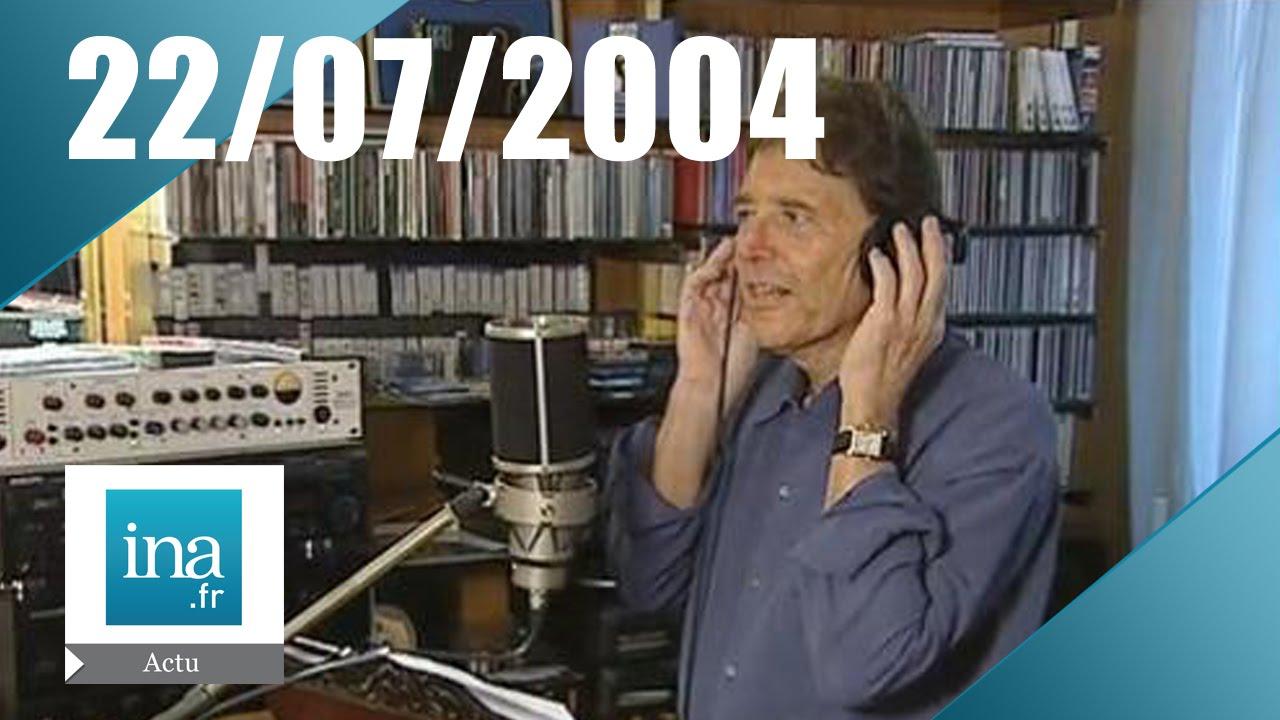 20h france 2 du 22 juillet 2004 sacha distel est mort archive ina youtube. Black Bedroom Furniture Sets. Home Design Ideas